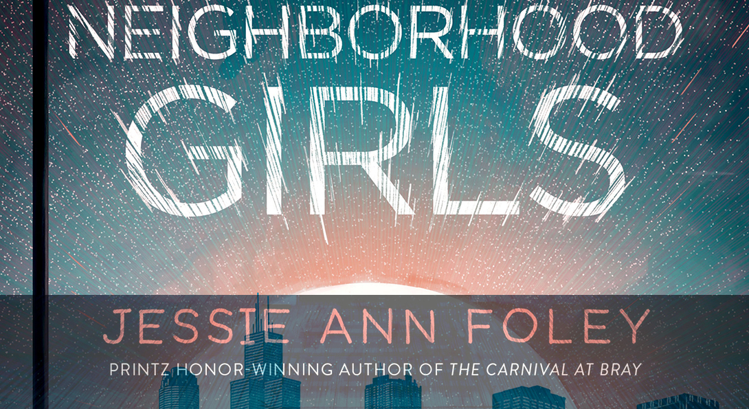 The cover of Jessie Ann Foley's new book,
