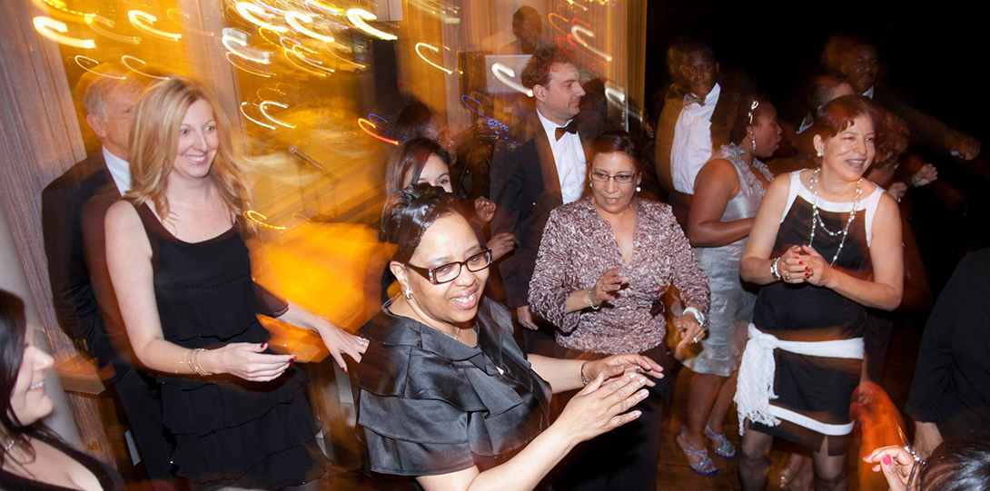 Guests dance at the 2014 Alumni Honors Gala.