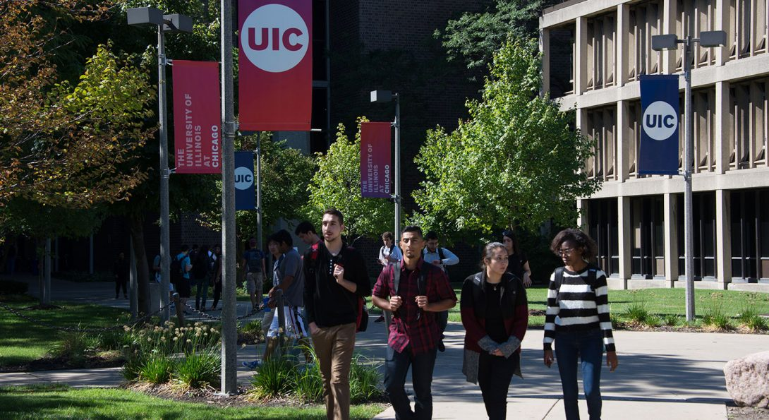 UIC campus photo