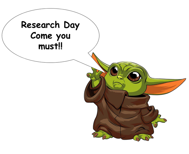 Research Day: Come you must!